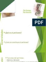 Abdomen Agudo - Peritonitis