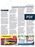 Pharmacy Daily for Thu 01 Dec 2016 - Guild seeks $82m risk share, Guild PotY finalists named, Diabetes injection technique module, Travel Specials and much more