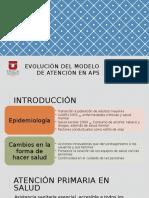 Evolución Del Modelo de Atención en APS
