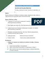 Práctica 4 - Análisis de Mallas y Nodos, Teoremas de Reciprocidad y de Kennelly Rev1