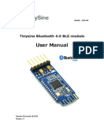 Tinysine Serial Bluetooth4 User Manual