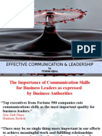 Effective Communication & Leadership