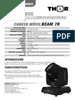 Manual 7R Beam - Web