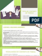 Tipos de Contrato de Trabajo Pocha