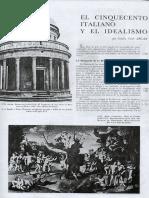 Sesion 4 G.C Argan, El Cinquecento italiano y el idealismo, 1977.pdf