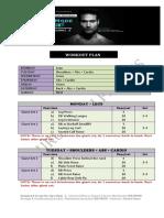 LEAN MODE Workout Plan by Guru Mann