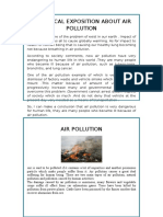 Analytical Exposition About Air Pollution