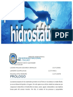 Informe 4 Presion Hidrostatica