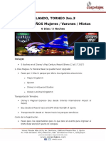 Orlando, Torneo 3vs.3 Aéreos