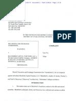 SEC Blackbird Complaint