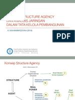 Konsep Struktur Agency Dan Analisis Jaringan Dalam Tata Kelola