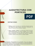 Arquitectura Con Porticos