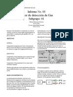 Informe Gas