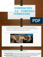 DEFORMACION  DE  LA   CORTEZA TERRESTRE.pptx