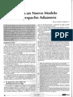 Despacho Aduanero NvoModelo Alvaro Gálvez