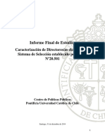 2014 Caracterización de Directores Electos CPPUC