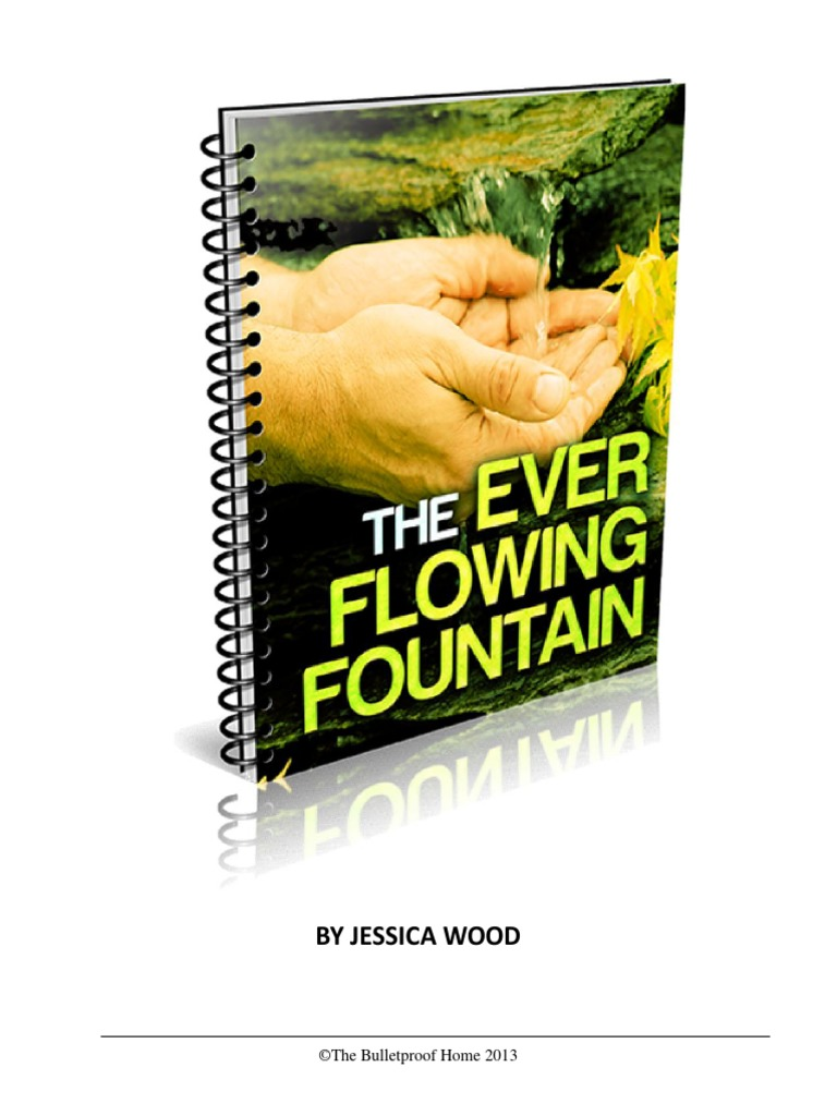 The ever flowing fountainpdf water purification boiling fandeluxe Choice Image