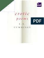 Erotic Poems - e. e. Cummings