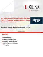 Introduction to Linux Device Drivers Part 2 Platform and Character Drivers