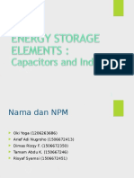 PPT Energy Element Dan First Order Circuit