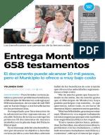 29-11-16 Entrega Monterrey 658 testamentos