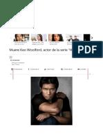 "Muere Keo Woolford, actor de la serie ""Hawaii Five-O"""
