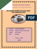 Salami de Chocolate, Dionela Incacutipa