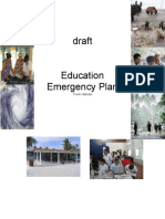 Cook Islands Education Emergency Plan Draft