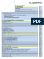 Tabla de Codificacion de at - NTC 3701