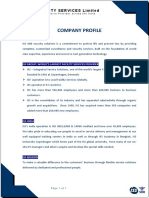 Iss Sdb Company Profile