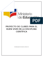 Proyecto Club Cientifico Experimentos