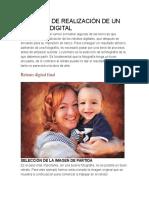Proceso de Realización de Un Retrato Digital