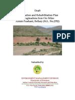 R and R Plan of Allum Prashanth ML 2352