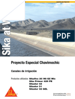 Sika at Work Proyecto Especial Chavimochic