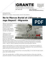 Marcos Burial PR
