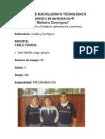 Cables Reporte 1 Coaxial Goñi