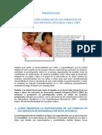 Protocolo de Participacion Familiar Servicios Dii.