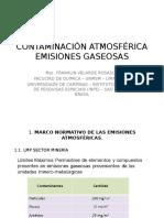 Contaminación Atmosférica Emisiones Gaseosas