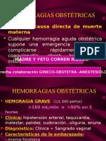 1.- Hemorragias Obst Dr Chavez