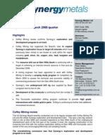 SML 2008 04 30 Quarterly report March 2008