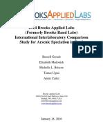 As Spec in Food Intercomp 2014 Report Final