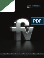 2014 Precios FV Ecuador