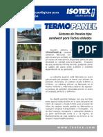 Termopanel Especificaciones Tecnicas ISOTEX
