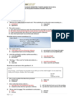 Latihan Soal Uas Bahasa Inggris Kelas 9 Semester 1 Versi 2 Kunci