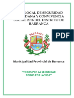 Plsc Distrito Barranca 2016
