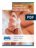 PH Donor Proposal Spanish 102116