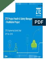 ZTE VNM_Project Health & Safety Management