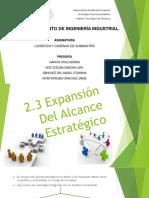 2.3 y 2.4 Expansion y Retos Para Lograr El Ajuste Estrategico