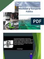Movilidad y Transporte Publico