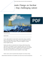 Effects of Climate Change on Nuclear Power Plants_ Stop Challenging Nature
